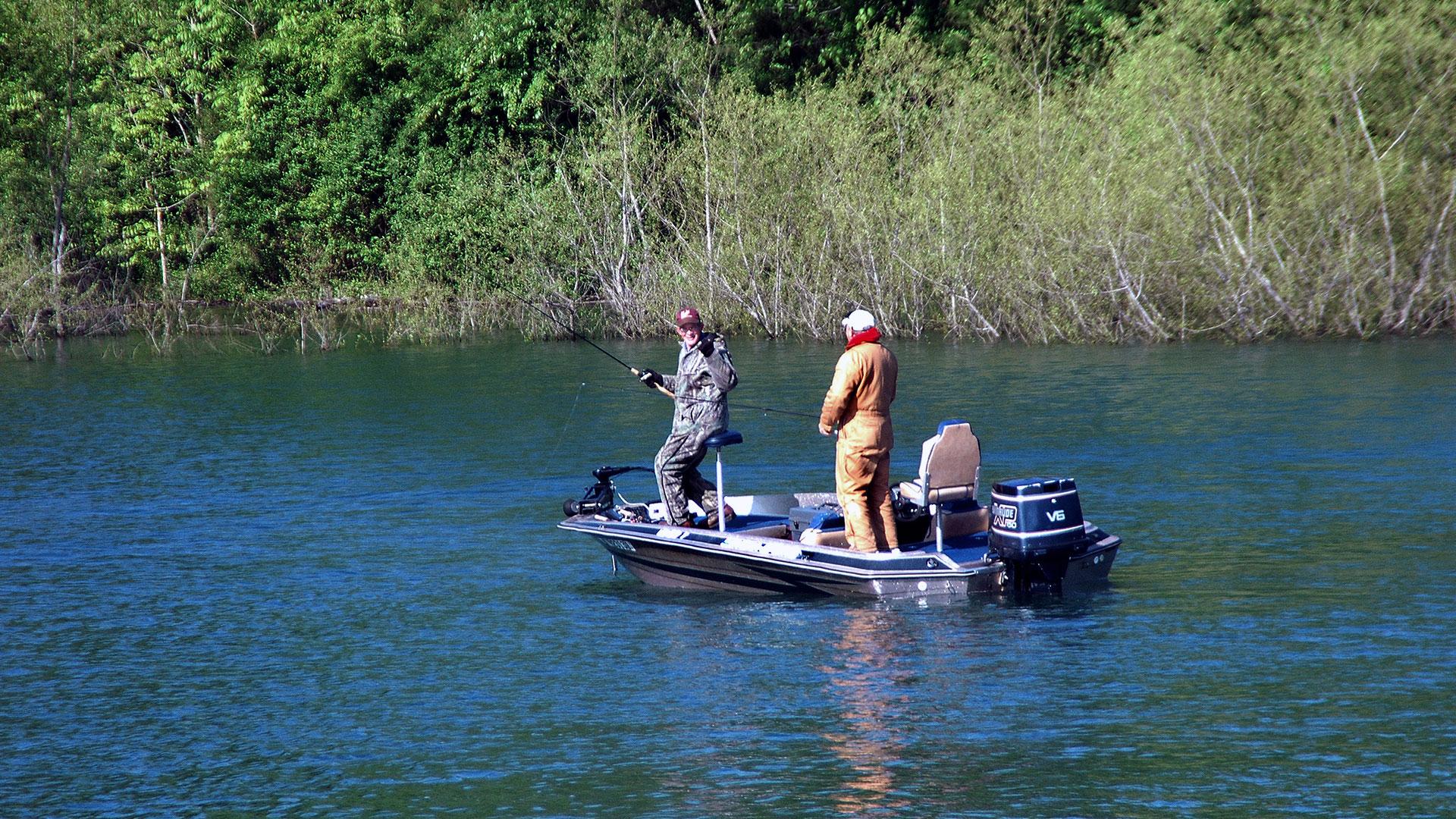 Fishing Dale Hollow Lake