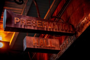 Preservation Hall entrance