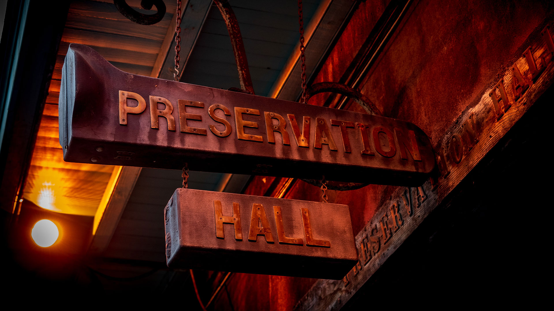 Preservation Hall entrance