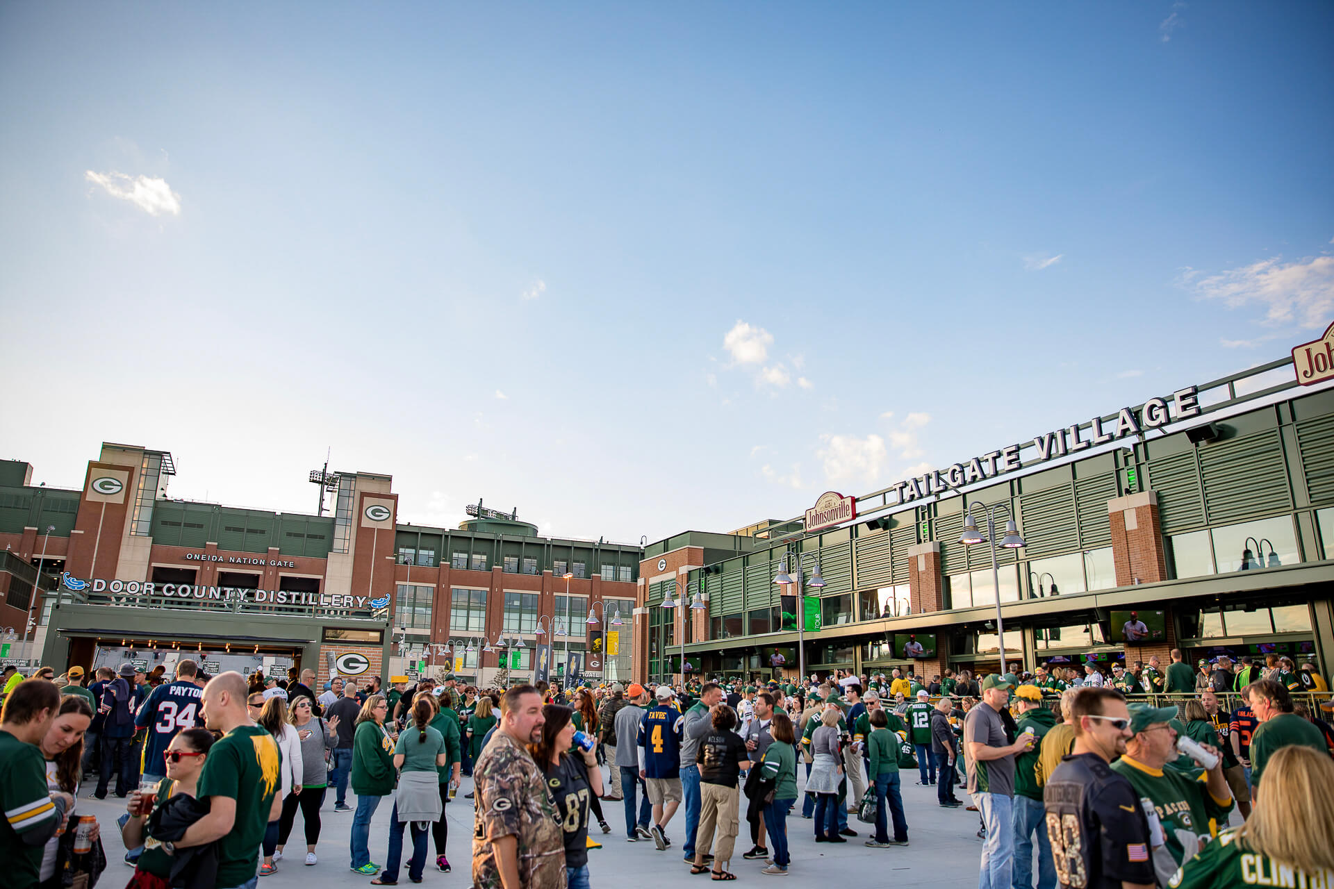 Green Bay Packers Tailgate Village in Titletown District