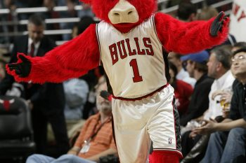 Benny the Bull of the Chicago Bulls at the United Center