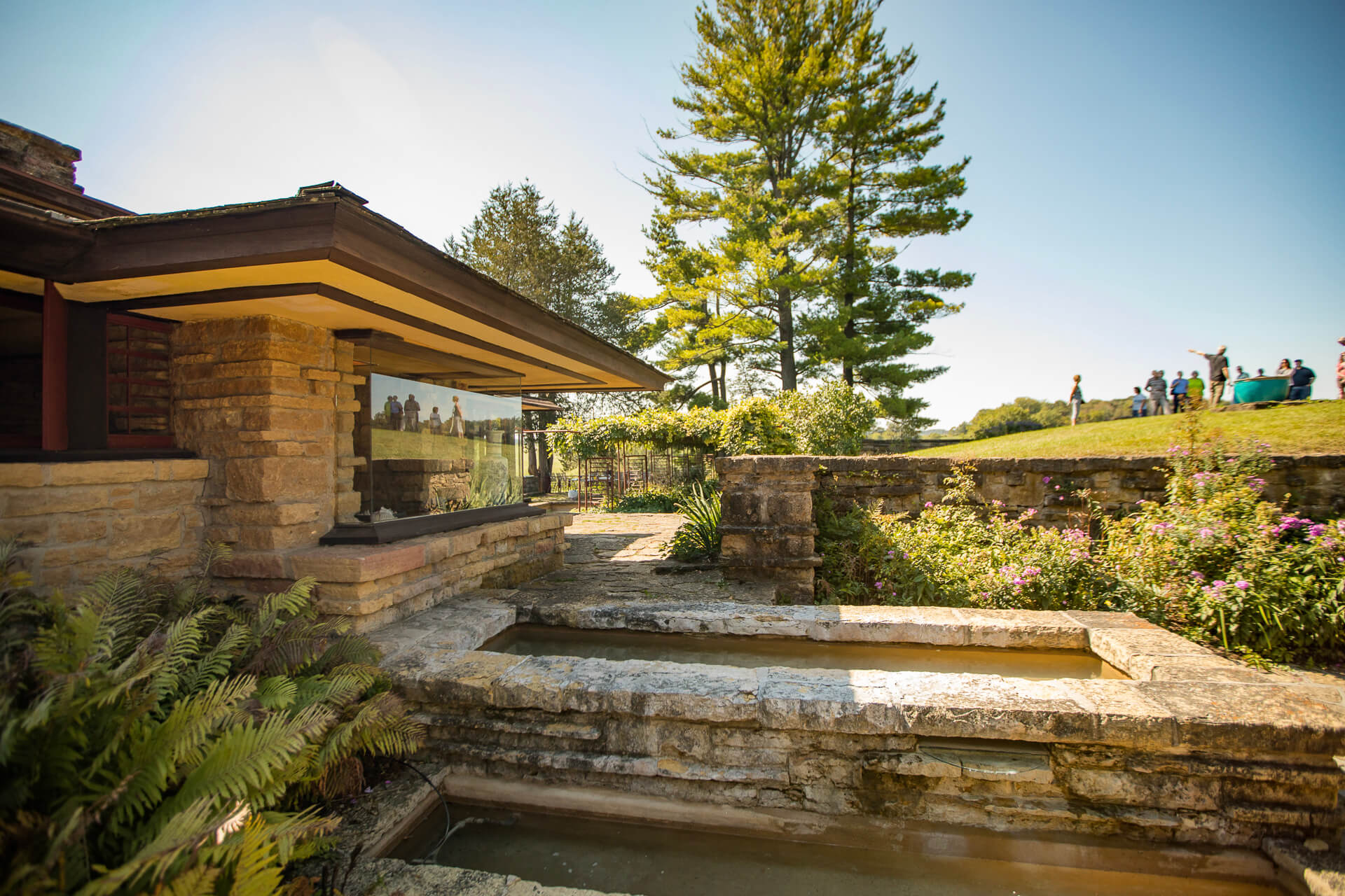 Garden Pools at Taliesin Estate