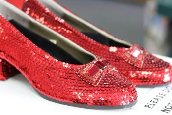 Judy Garland Ruby Red Slippers