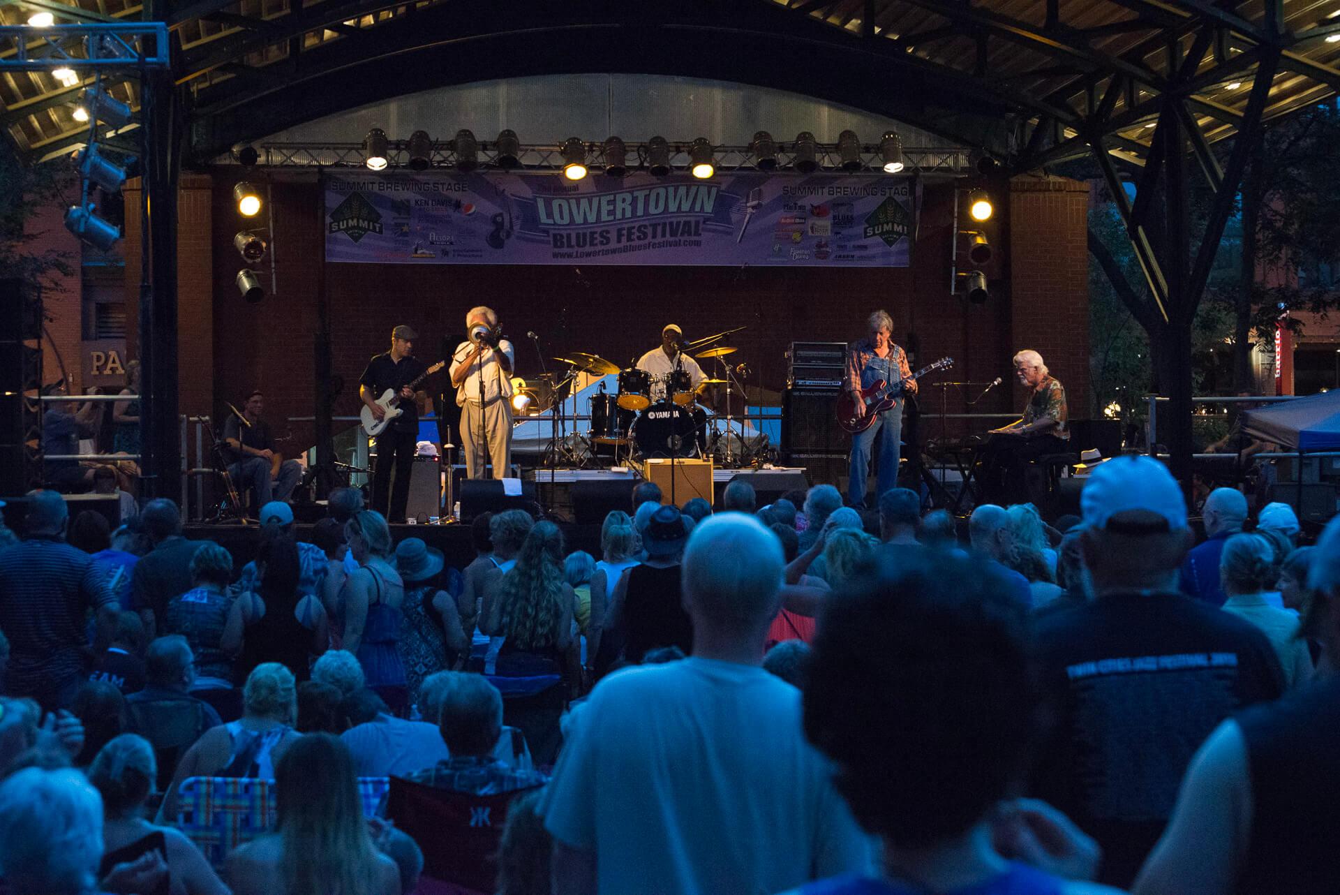 Lowertown Blues Festival in St. Paul