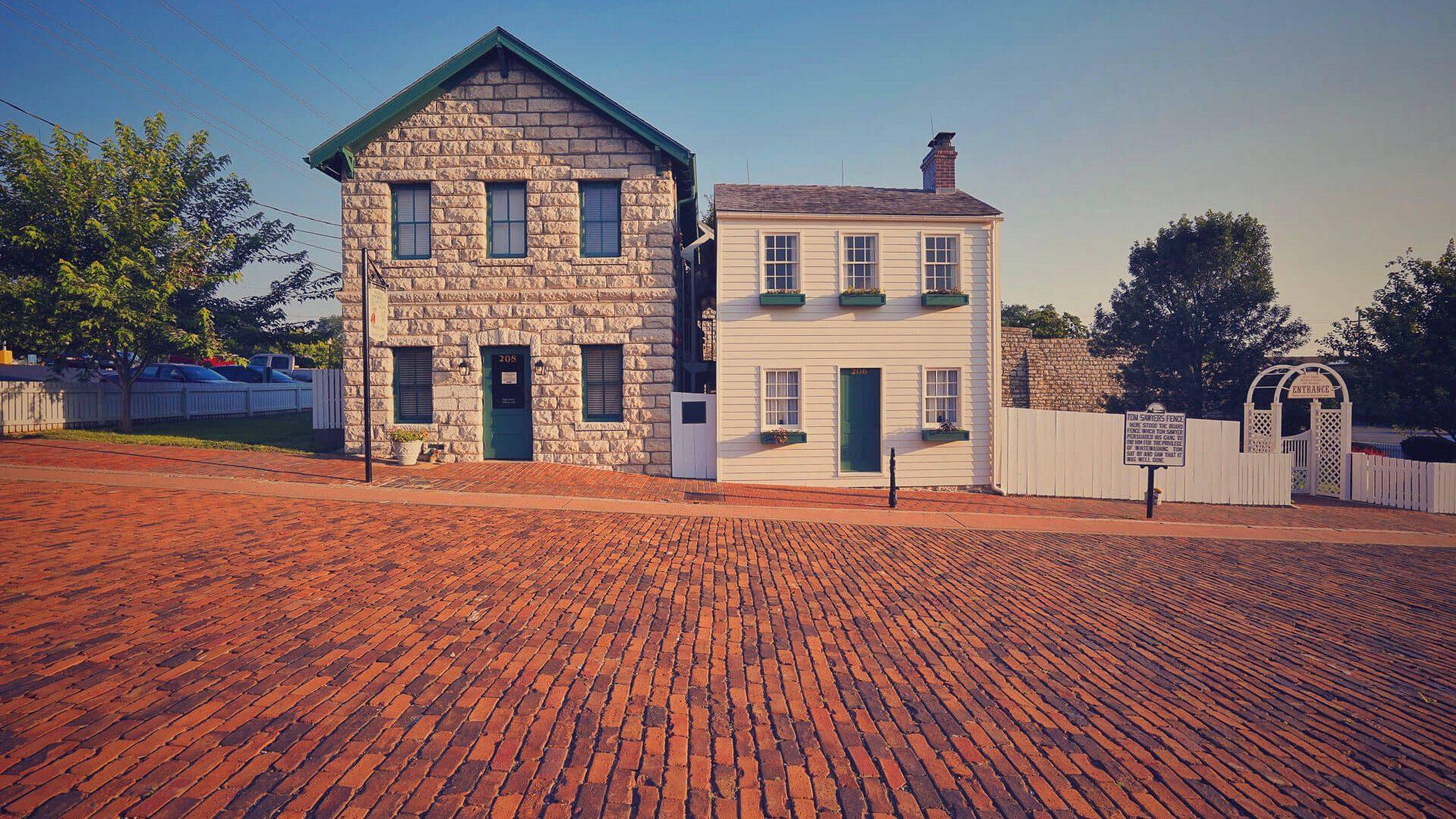 Mark Twain Boyhood Home and Museum in Hannibal, MO