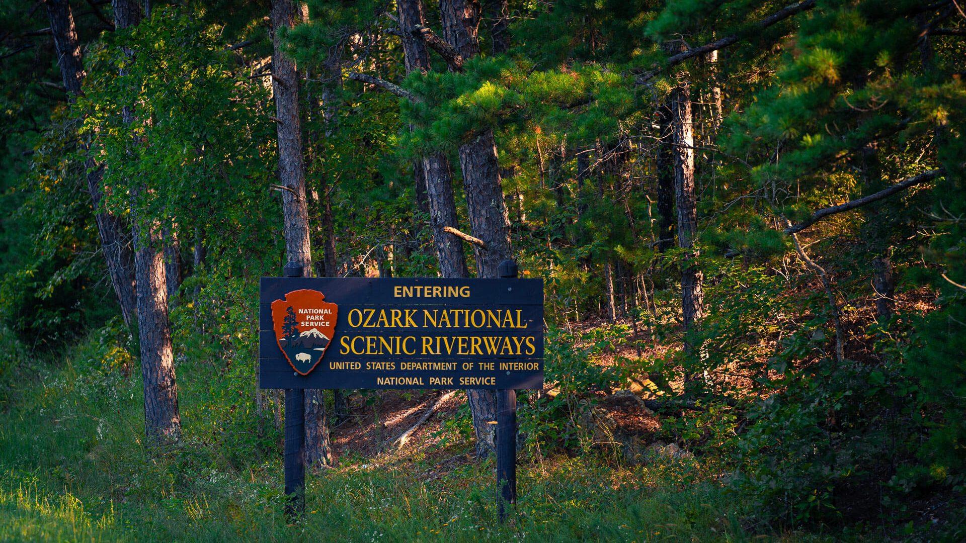 Ozark National Scenic Riverways preserves a wild river system