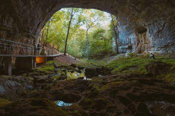 Smallin Civil War Cave is a historic site in Missouri
