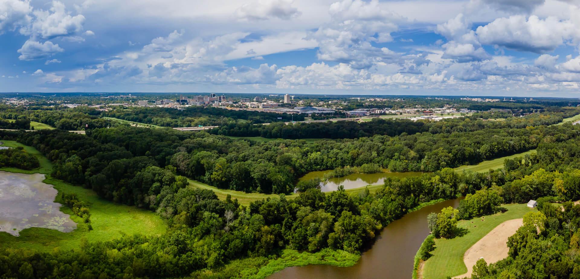 Jackson, Mississippi view