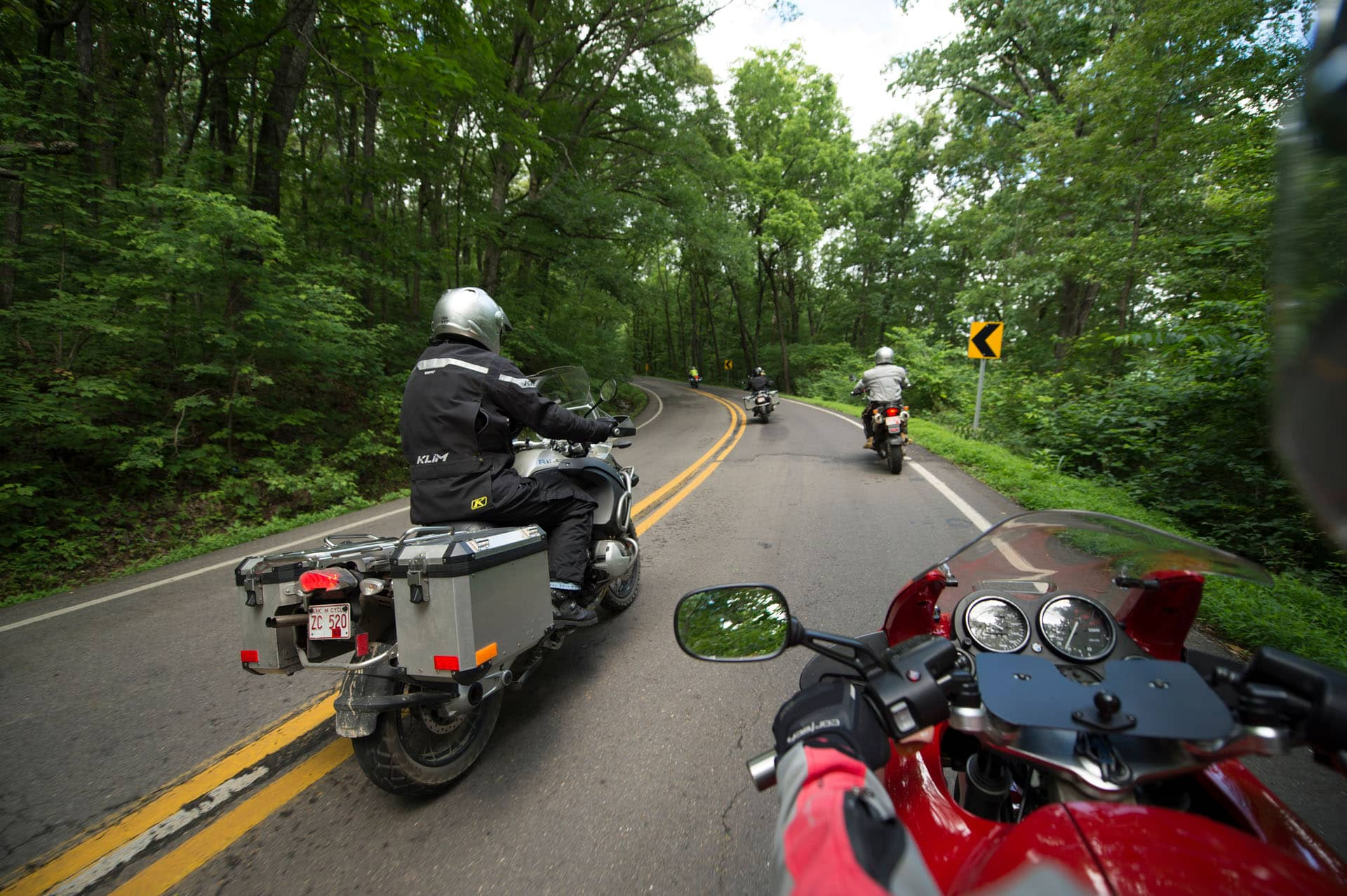 BMW Motorcycles Pig Trail Scenic Byway