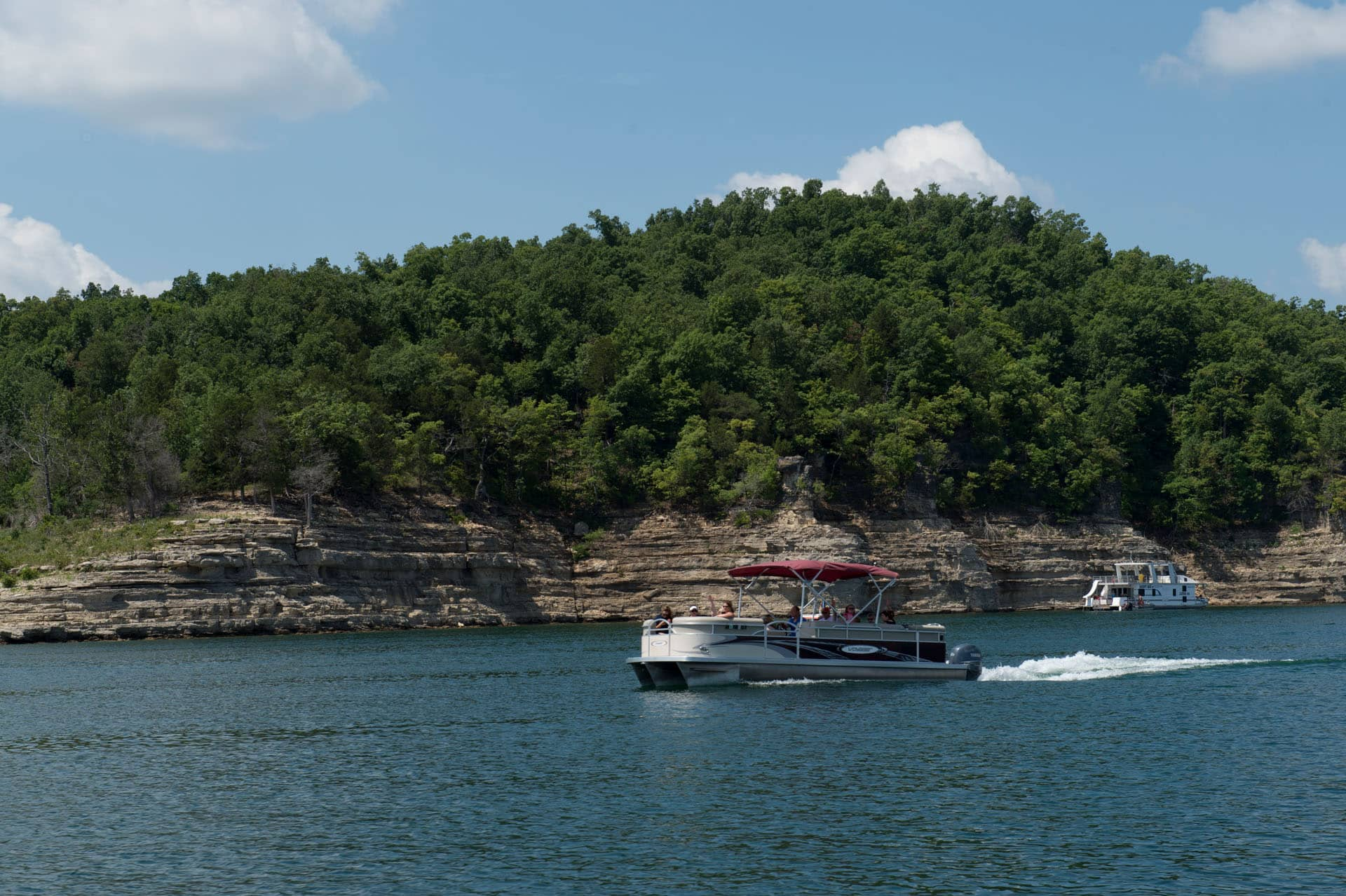 Bull Shoals Lake Party Barge