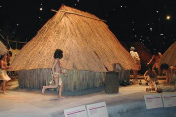 Cahokia Mounds State Historic Site Interpretive Center Exhibit Colinsville