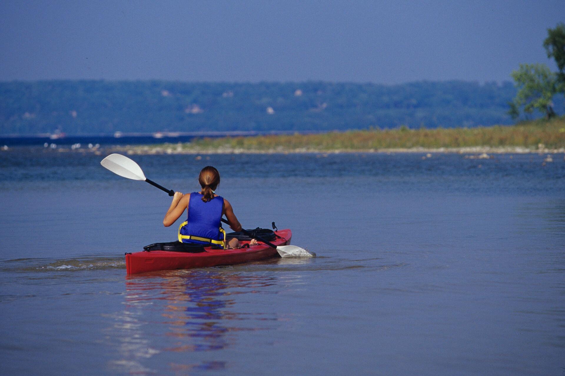 Kayaking in Door County