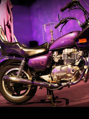 Purple Rain exhibit