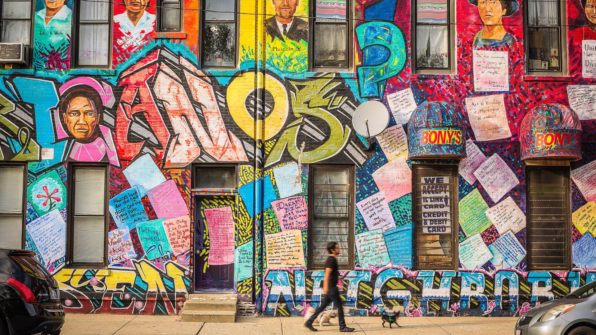 Chicago street mural